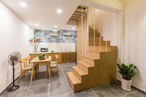 Mẫu thiết kế nhà phố 32m2 với thiết kế độc đáo